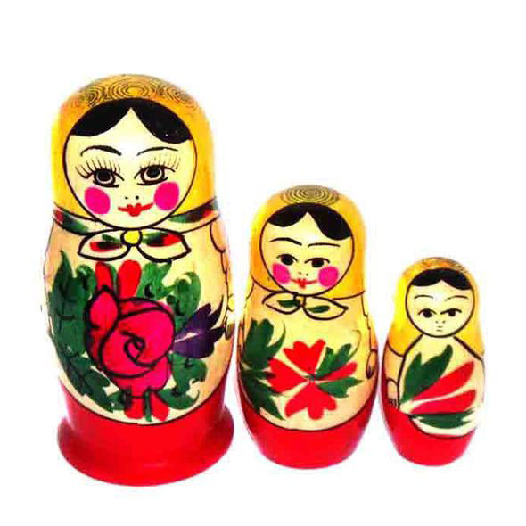 Matreshka (3) Nested Doll, 3""