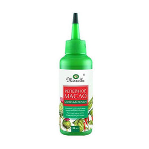 Burdock Oil for hair, Red Pepper Extract, 3.35 oz