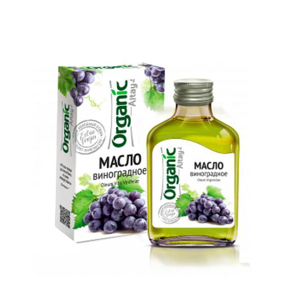 Organic Grape Oil, 3.4 fl oz / 100 ml