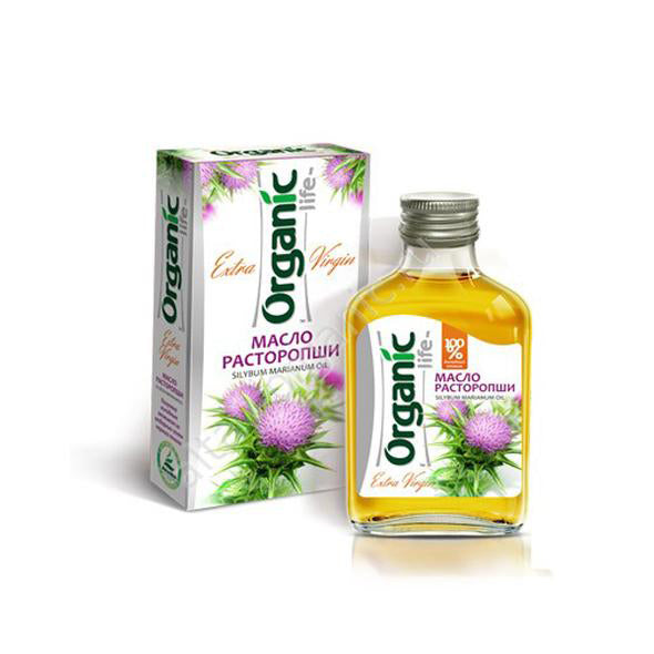 Organic Milk Thistle Oil, 3.38 oz / 100 ml