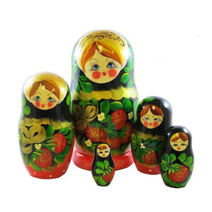 Matryoshka (5) Nested Doll, 4.5""