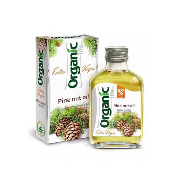 Organic Life Pine Nut Oil, 3.38 oz / 100 ml