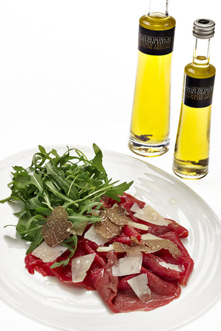Summer truffle olive oil dressing