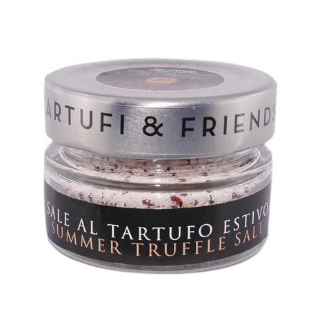 Summer truffle salt