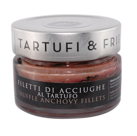 Anchovy fillets with truffle