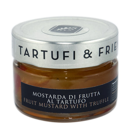 Fruit mustard with truffle
