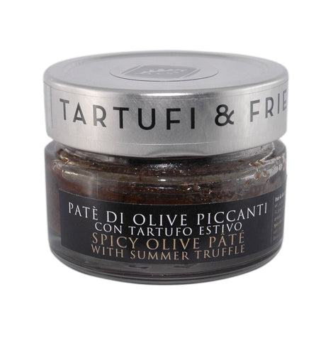 Patè of spicy olives with summer truffle