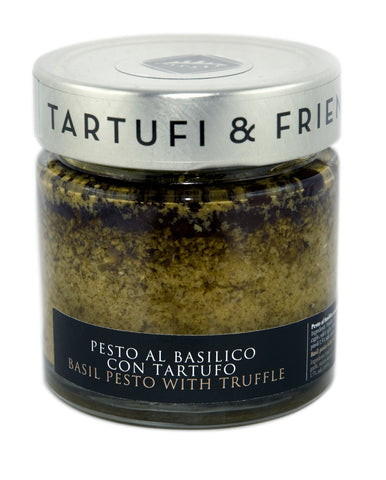 Basil pesto with truffle