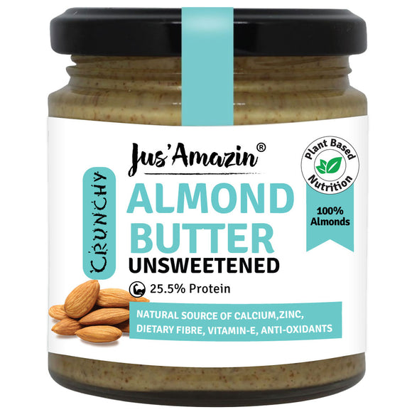 Crunchy Almond Butter - Unsweetened
