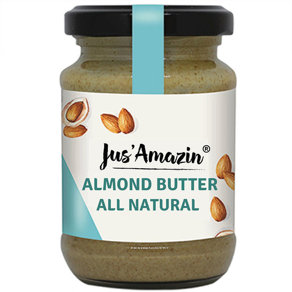 Creamy Almond Butter - All Natural (Unsweetened)