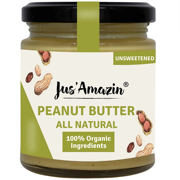 Creamy Organic Peanut Butter - All Natural (Unsweetened)