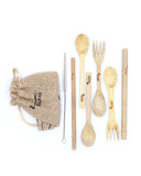Eco-Friendly On The Go Bamboo Cutlery Kit - 2