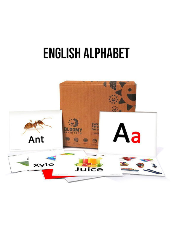 Alphabet-Baby Flash Cards-32-Cards