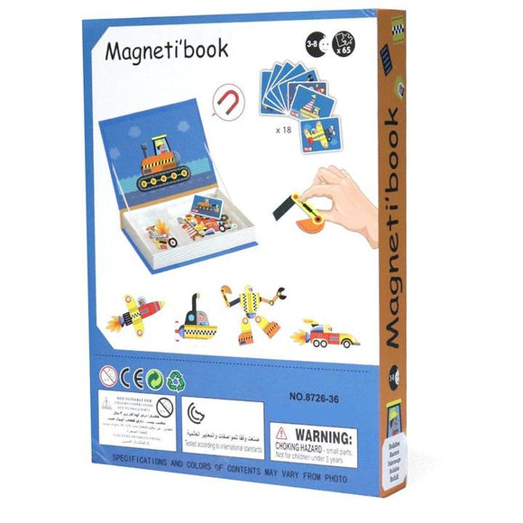 Magnetic book- Racers