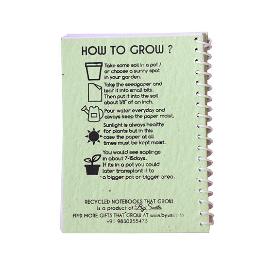 Note Books That Grow