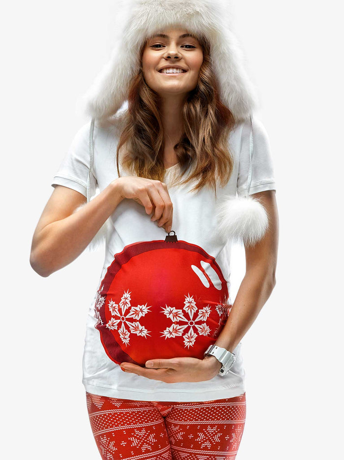 My Bauble Bump Maternity Christmas T-shirt