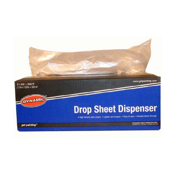 Dynamic Plastic Drop Sheet 9' X 400