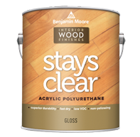 Stays Clear Acrylic Polyurethane Gloss