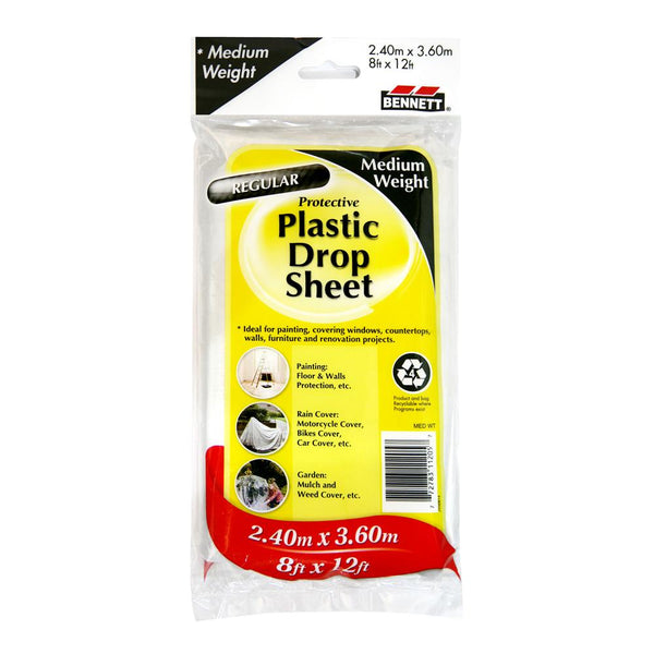 8X12 Plastic Drop Sheet