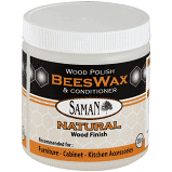 Saman Beeswax Natural Wood finish 200 g