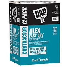 Dap Alex Fast Dry Contractor 12 pack White