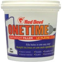 Red Devil Onetime Lightweight Filler