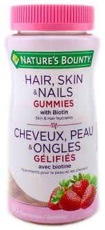 NATURE'S BOUNTY HAIR&NAILS GUM  80'S