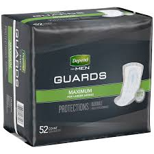 DEPEND GUARDS FOR MEN           52'S