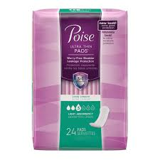 POISE ULTRA ABSORB LONG PADS    45'S