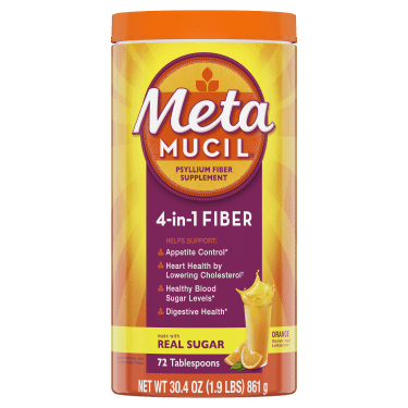 METAMUCIL SMTH ORNGE SF 114DS   861G