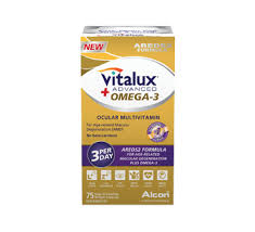 VITALUX ADVANCED+OMEGA-3        75'S