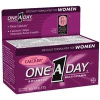 ONE A DAY ADVANCE WOMEN         90'S
