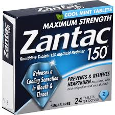 ZANTAC TABS COOL MINT 150MG     24'S