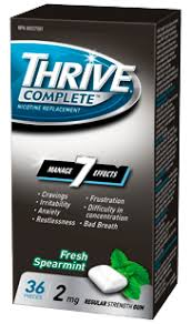THRIVE NICOTINE MINT LOZ 1MG    36'S