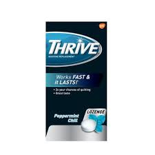 THRIVE NICOTINE MINT LOZ 1MG   108'S