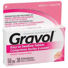 GRAVOL TABLETS 50MG             30'S