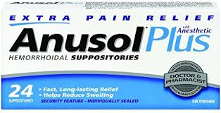 Anusol Plus Suppositories (24)