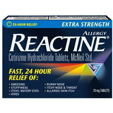 REACTINE TABS X-STR             10'S