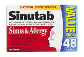 SINUTAB SINUS & ALLERGY X-STR   48'S