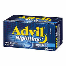 Advil Nighttime Liqui-Gels (40)