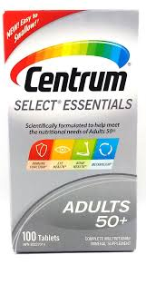 CENTRUM SELECT ESSENTIALS      100'S