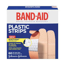 BAND-AID PLASTIC BANDAGES       60'S