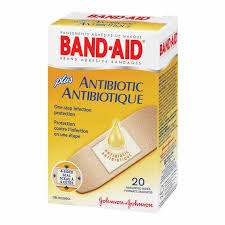 BAND-AID ANTIBIOTIC             20'S