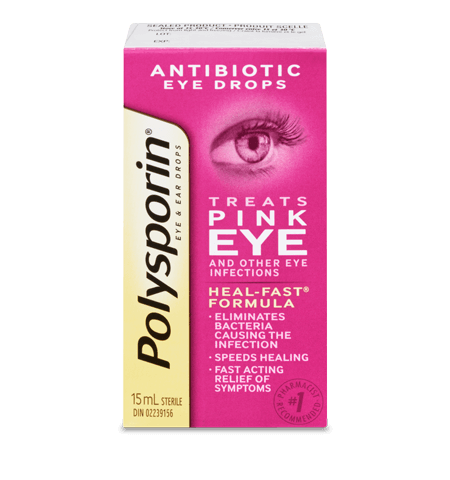 POLYSPORIN PINK EYE DROPS       15ML