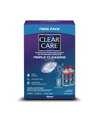 Clear Care Lens Solution Twin Pack 2/360ML