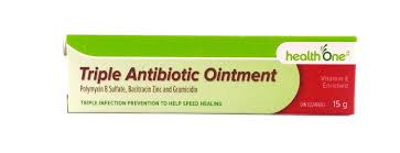 H ONE ANTIBIOTIC OINTMENT TRIPLE 15G