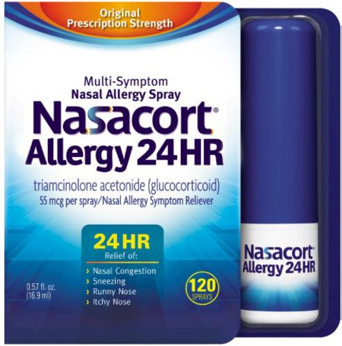 NASACORT ALLERGY 24HR SPRAYS   120'S