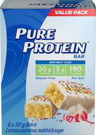 PURE PROTEIN BIRTHDAY CAKE VP  6/50G