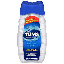 TUMS ULTRA PEPPERMINT          160'S