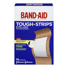 BAND-AID TOUGH STRIP XL         10'S